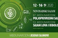 Poljoprivredni sajam ipak u Novom Sadu od 12-16 septembra