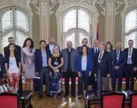 Učesnici Simpozijuma Pivo, pivarstvo i hmeljarstvo u poseti gradskoj kući u Zrenjaninu