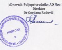 Poziv za dostavljanje ponuda za stampanje PPK 2018