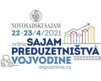 Prvi onlajn sajam preduzetništva Vojvodine 22. i 23. aprila