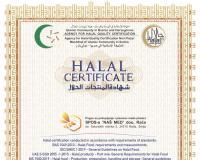 Pogon Naš med nosilac i HALAL sertifikata
