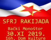 Rakijada u Bačkom Monoštoru uz sećanje na SFRJ