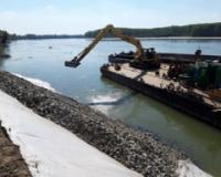 Nastavljena sanacija dunavske obale kod Vajske